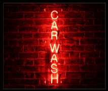 Carwash Neon Sign
